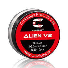 Load image into Gallery viewer, Coilology Alien V2 Coil 10pcs/pack