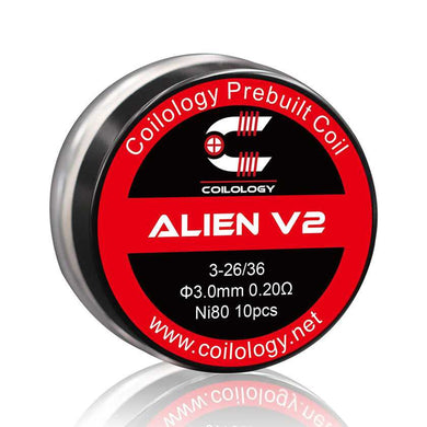 Coilology Alien V2 Coil 10pcs/pack
