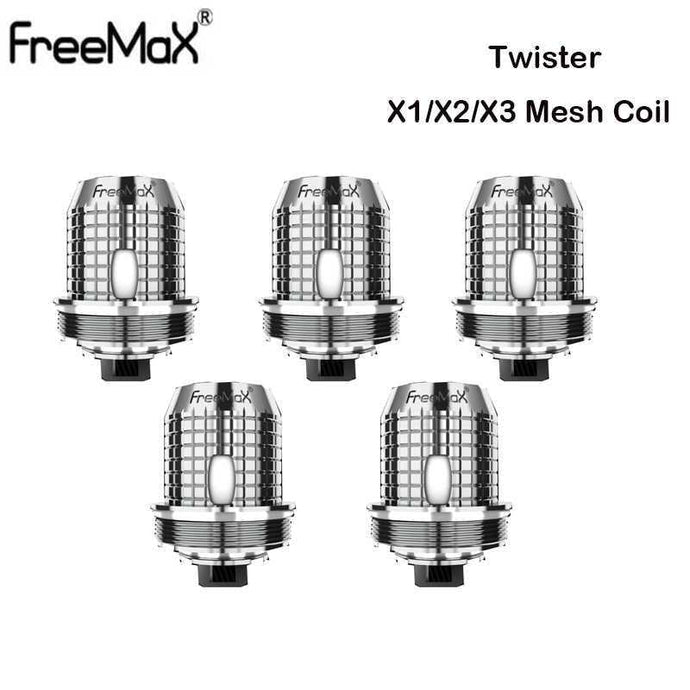 Freemax Twister Replacement X/TX Mesh Coil 5pcs/pack