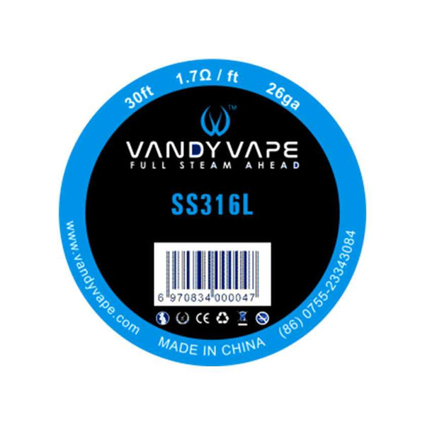 30ft Vandy vape SS316L Wire