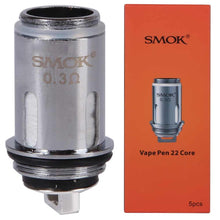 Load image into Gallery viewer, SMOK Vape Pen 22 Core 5pcs