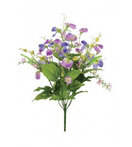 Artificial Sweet Pea Bundle - Large