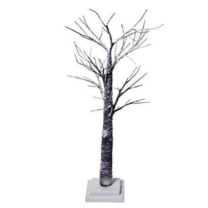 Artificial Christmas Tree; Snow Covered Twig Tree, Brown, 70cm