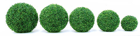 Artificial Topiary; Box Balls