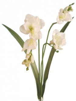 Artificial Freesia Cream/Green