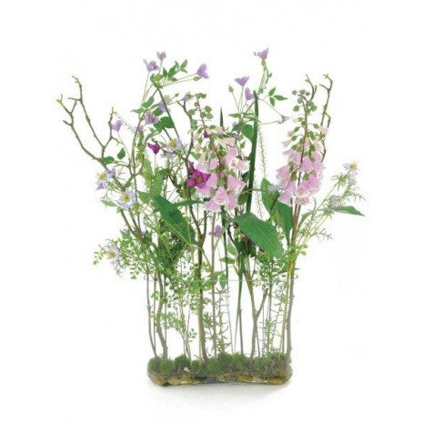 Artificial Flower Arrangement - Wild Meadow Mix in Vase (90cm)