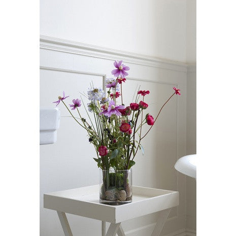 Artificial Flower Arrangement - Summer Mix in Vase (48cm)