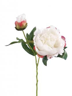Artificial Peony White