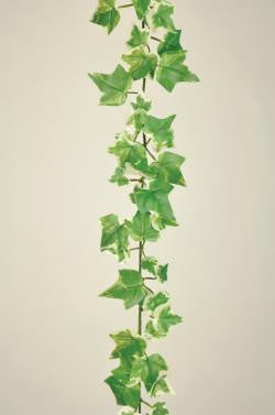 Artificial Ivy Garland, small variagated leaves