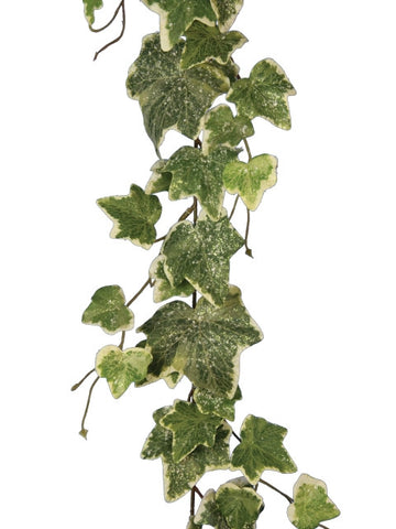 Artificial Ivy Garland, Frosted, 180cm