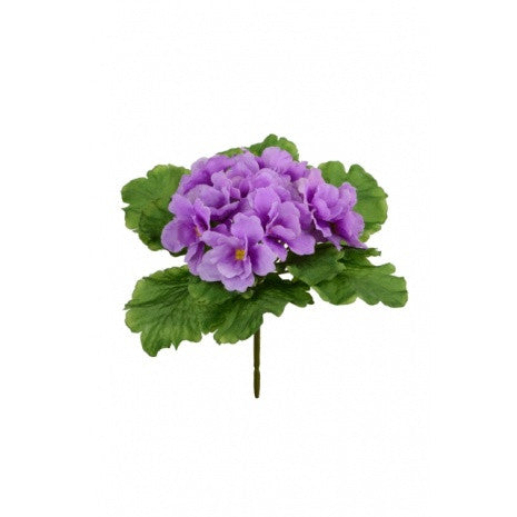 Artificial African Violet Plant, Pink