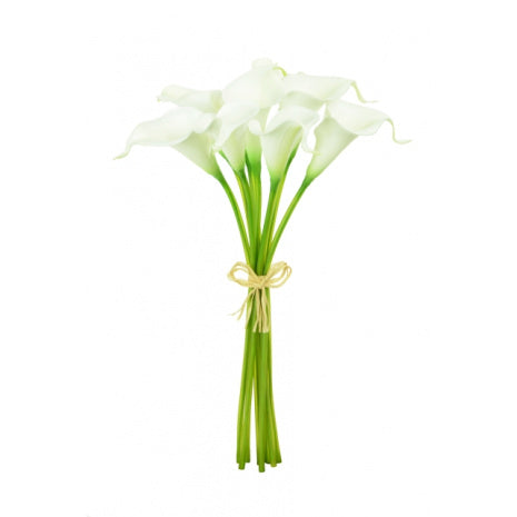 Artificial Calla Lily bundle - White