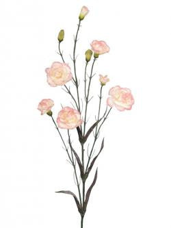 Artificial Carnation Spray, Pink