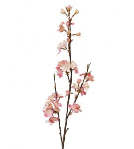 Artificial Cherry Blossom Spray - Pink
