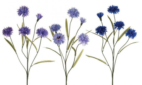 Artificial Cornflower Stem