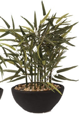 Artificial Bamboo Plant, 40cm, Potted