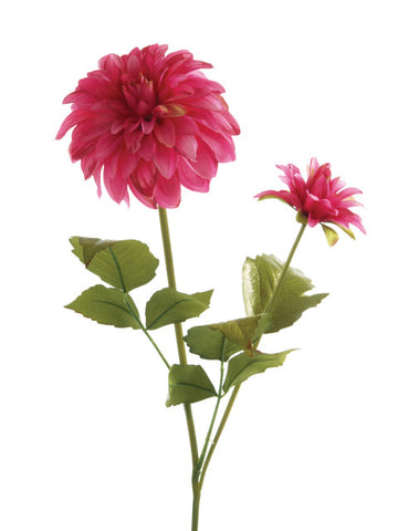 Artificial Dahlia, Deep Pink