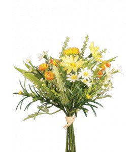 Artificial Daisy & Blossom Bundle - Yellow