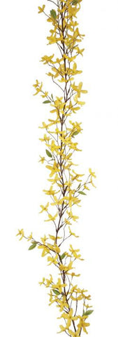 Artificial Forsythia Garland