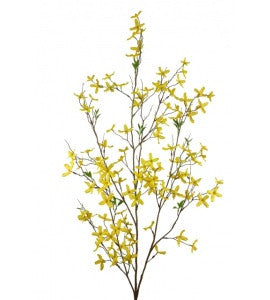 Artificial Forsythia Spray, Large