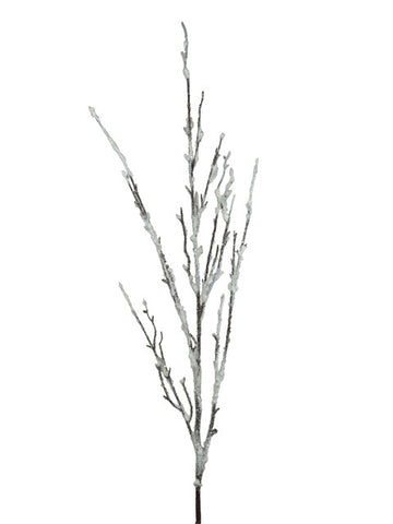 Artificial Twig Spray, Large, Frosted