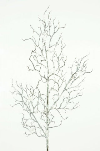 Artificial Snowy Twig Spray 68cm