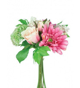 Artificial Gerbera & Rose Bouquet