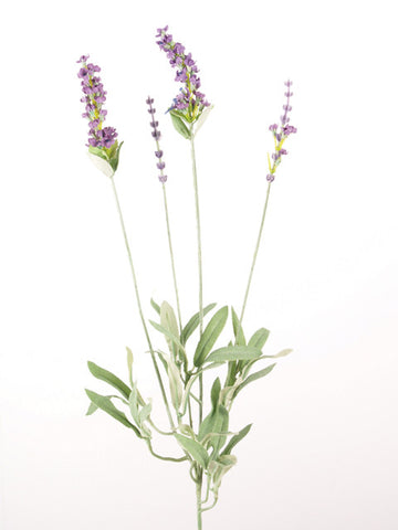 Artificial Lavender Spray