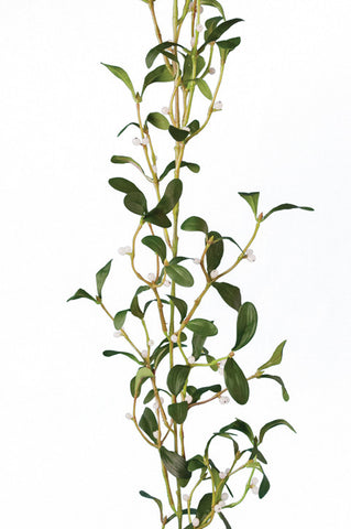 Artificial Mistletoe Garland, Christmas Garland, 184cm