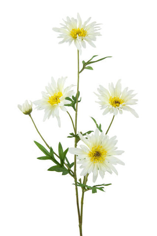 Artificial Wild Daisy Spray, White