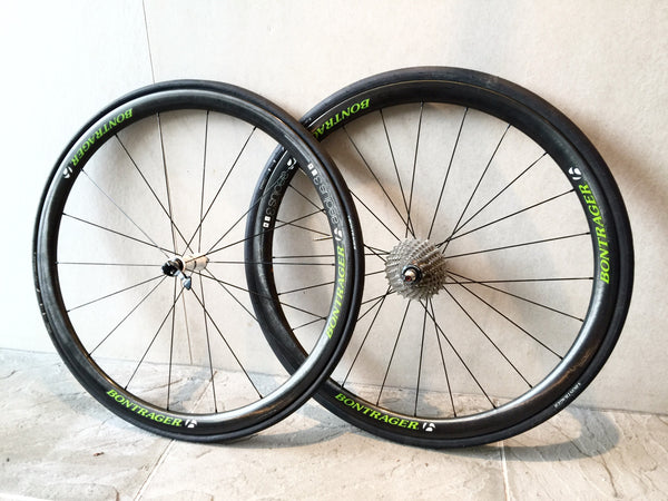 BONTRAGER AEOLUS 3 TLR D3 CLINCHER ROAD WHEELS