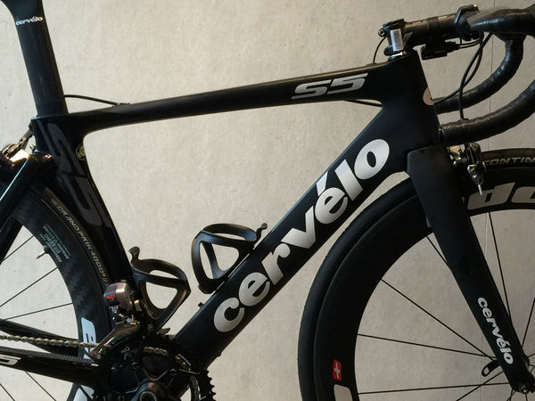 Cervelo S5 2016, optional Dura Ace Di2 and Edco Carbon Clinchers.