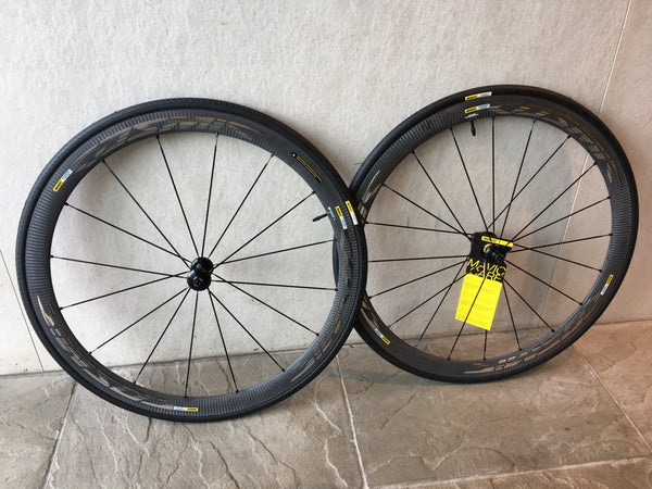 Mavic Cosmic Elite 40C Wheelset, Shimano Freehub