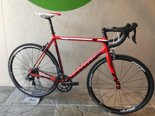 Cannondale Supersix Evo with Zipps, Shimano Ultegra, Size 56cm
