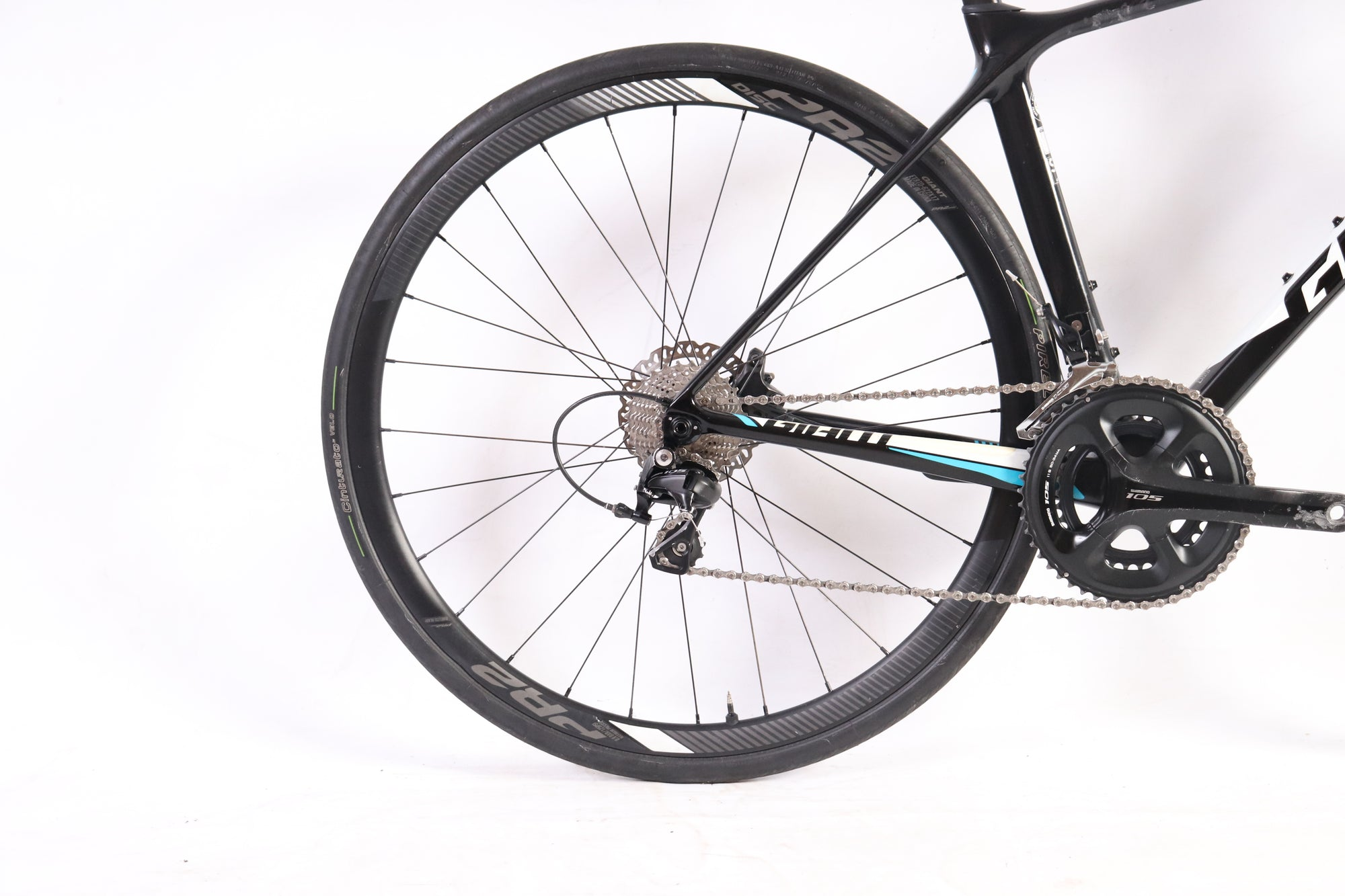 2018 Giant TCR Advanced Disc, Shimano 105, Size Small