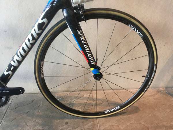 Specialized S Works Tarmac Sagan Edition, Enve 2.2, Shimano Dura Ace Di2, Size 52cm