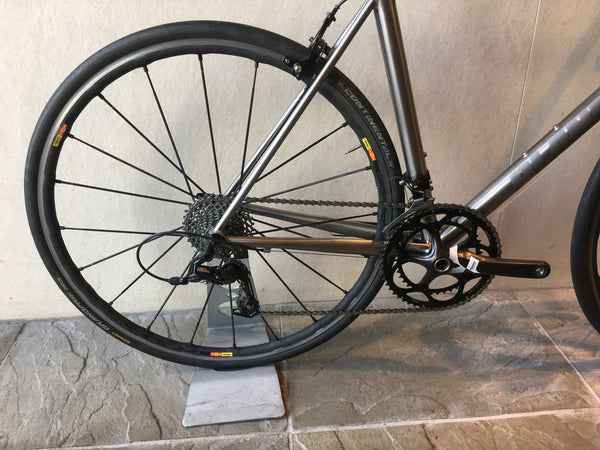 Planet X Pro Road Titanium, Sram Rival, Size 54cm Top tube