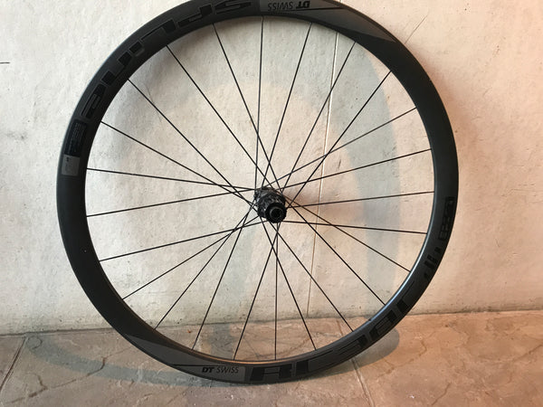 DT Swiss RC38C Disc Carbon Clincher Wheelset, Used