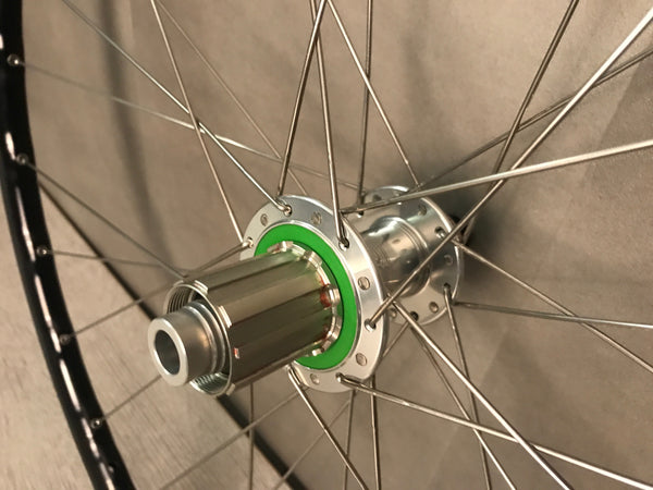 Mavic Open Pro Disc Wheels, Hope Hubs, Shimano Freehub