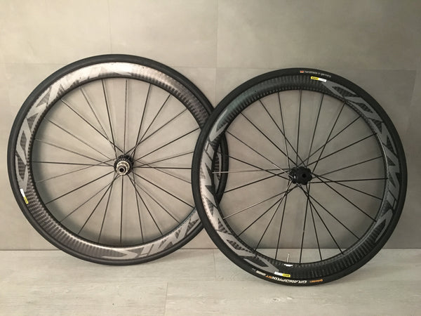 Mavic Cosmic Pro Carbon Disc Wheelset, Shimano Freehub