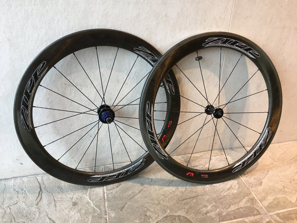 Zipp 404 Clincher Wheelset, Campagnolo Freehub