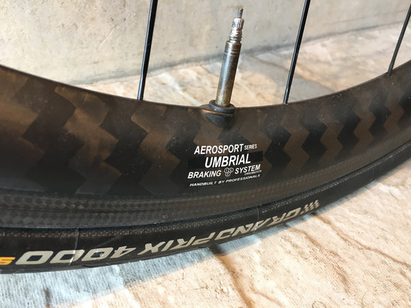 Edco Umbrial Carbon Wheelset, Clinchers, Campag + Shimano/Sram Hub
