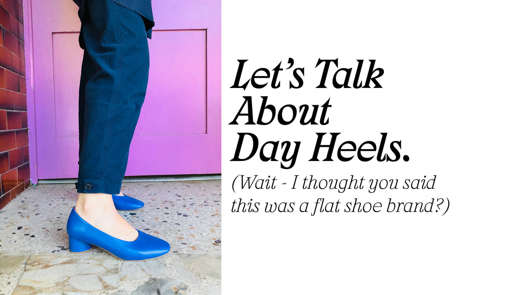 Radical Yes Day Heels