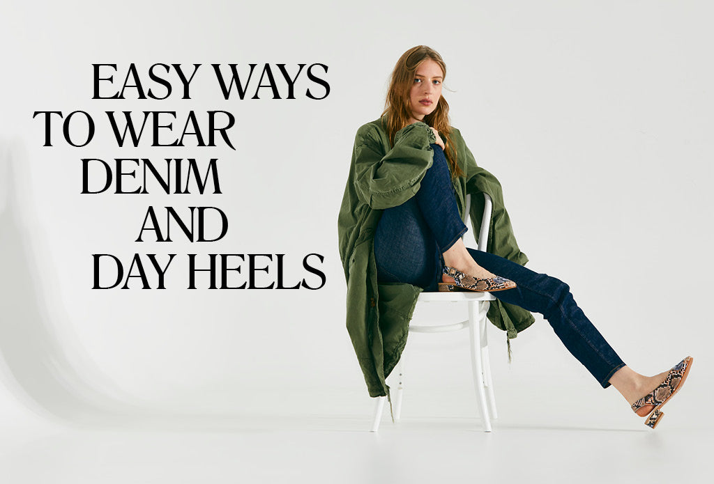 Radical Yes Denim & Day Heels