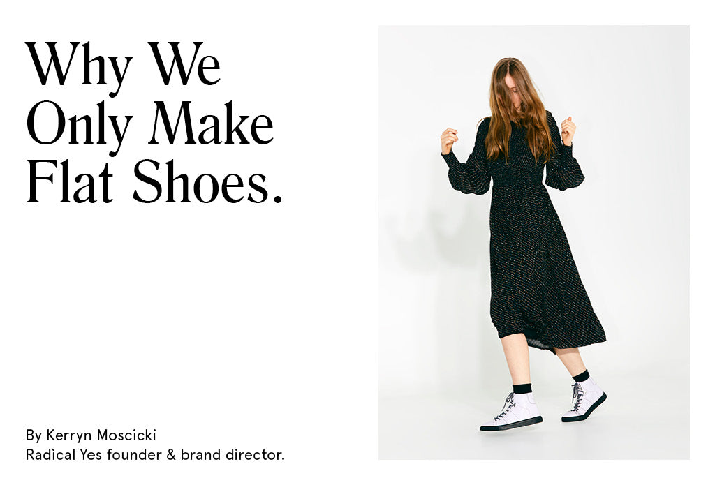 Radical Yes Flat Shoes
