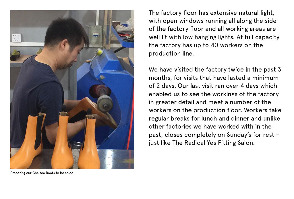 Radical Yes Our Factory