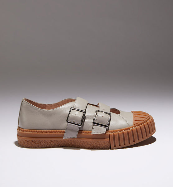 PRE-ORDER 'Movement' Buckle Shoe 2.0 - Cement