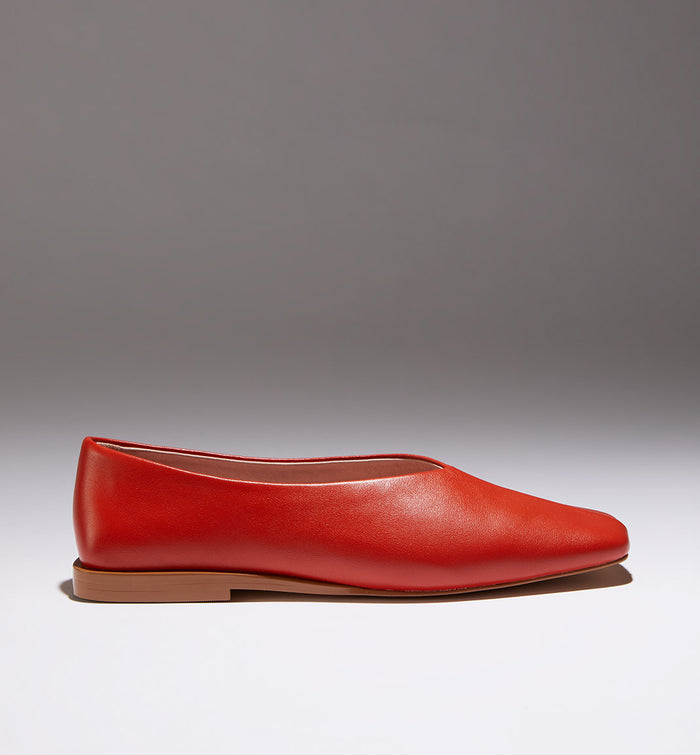 Radical Yes 'Utopia' Square Toe - Mango Leather