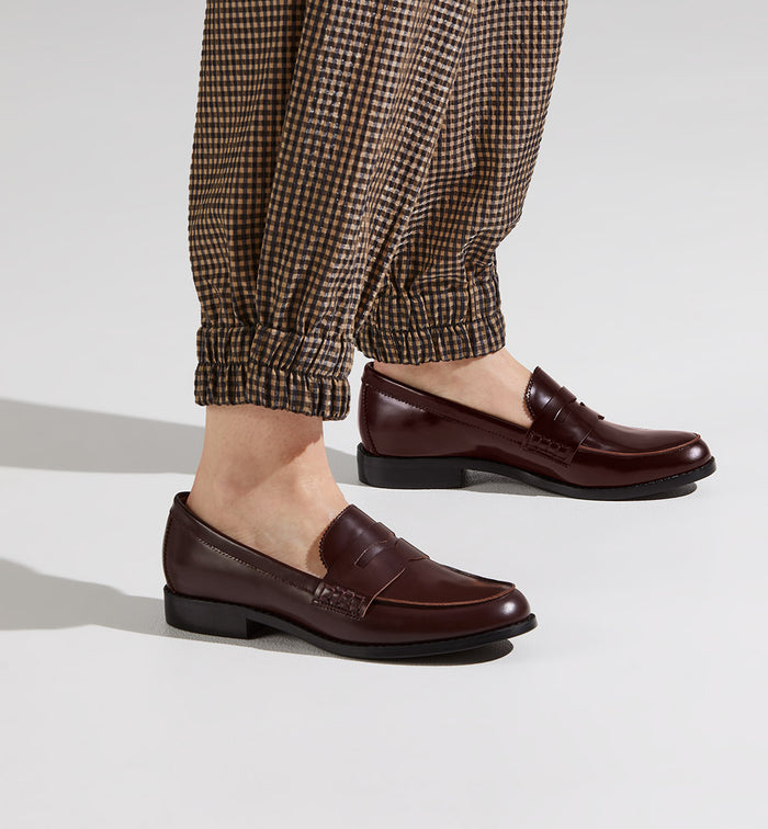 Radical Yes 'Liberation' Penny Loafer - Burgundy