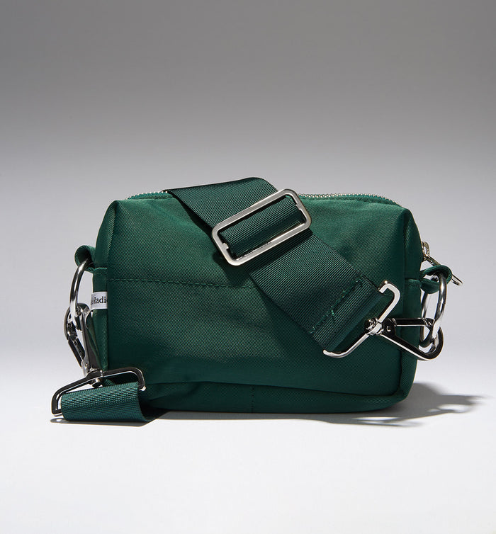 Radical Yes 'North Star' Nylon Clutch MINI - Bottle Green